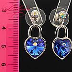 Сережки з кристалами SWAROVSKI., фото 2