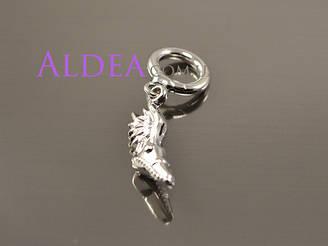 Підвіска Кросовок з крилами для браслети, срібло