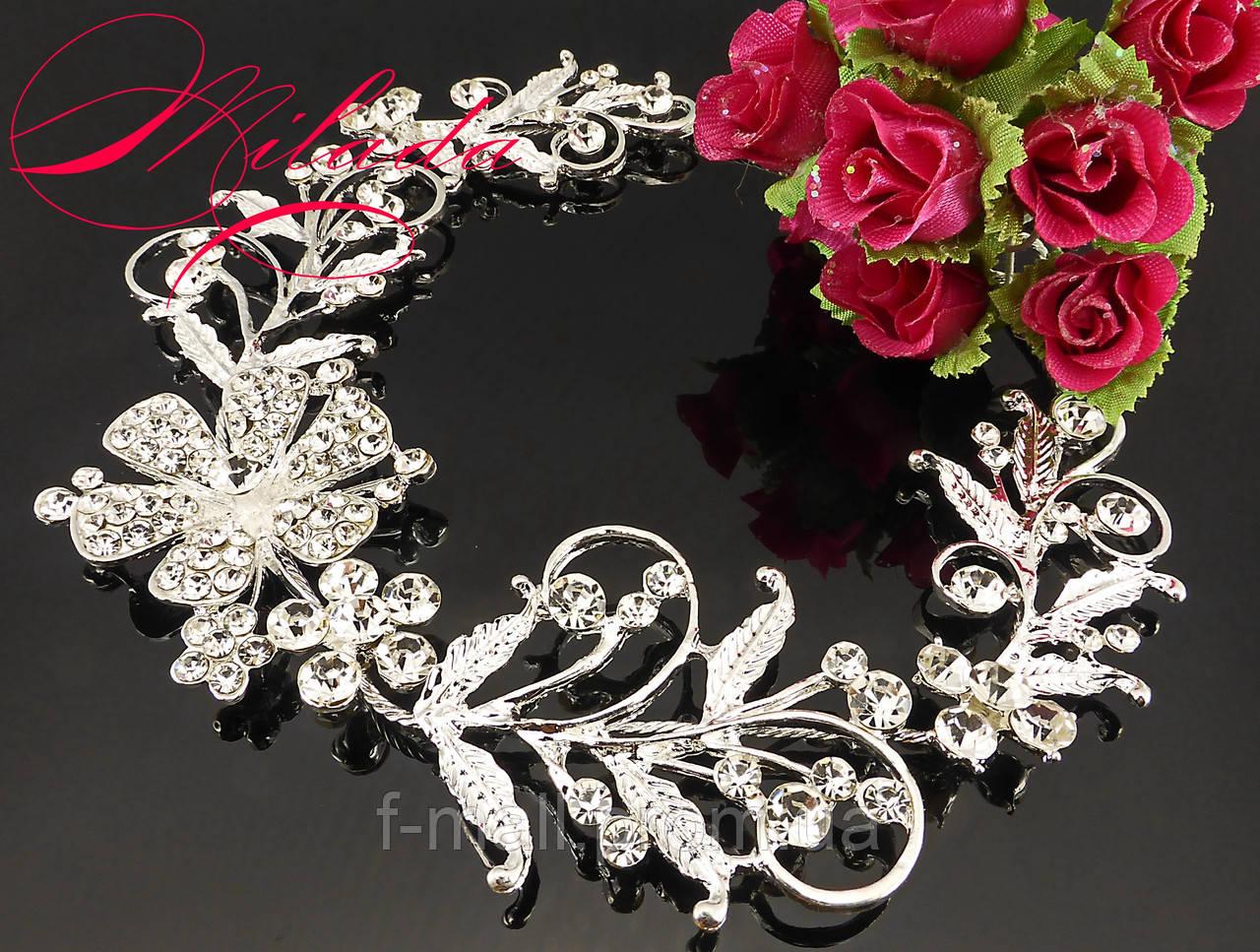 Діадема-віночок для весільної,вечірньої зачіски