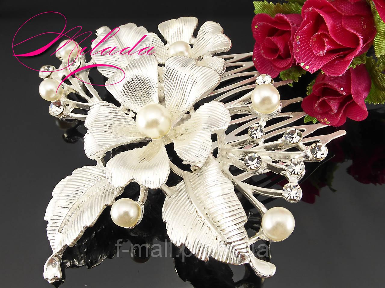 Диадема-гребень для свадебной,вечерней прически
