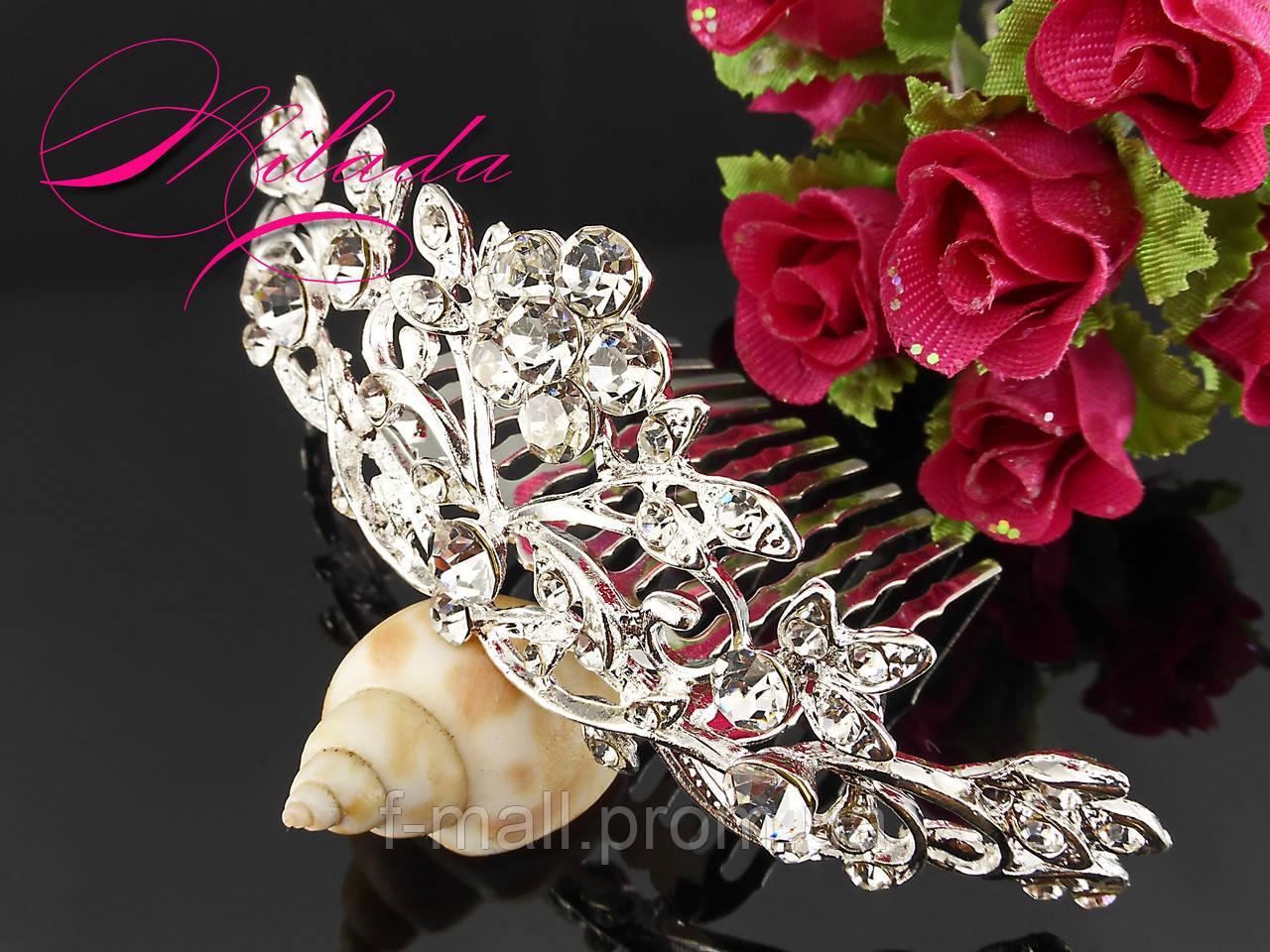 Діадема-гребінь для весільної,вечірньої зачіски