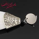 Сережки - білі пензлики., фото 3