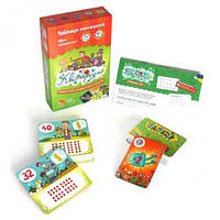 """Настольная игра """"Цветариум"""" развивающая карточная игра для детей на изучение таблицы умножения."""