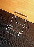 Подставка для планшета или смартфона ширина 100 мм, фото 2