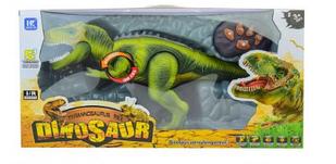 Динозавр на радіокеруванні зелений