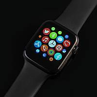 Смарт часы HiWatch T500+ Pro Smart Watch, диагональ 1.75, умные часы, фитнес браслет. Металлический корпус.