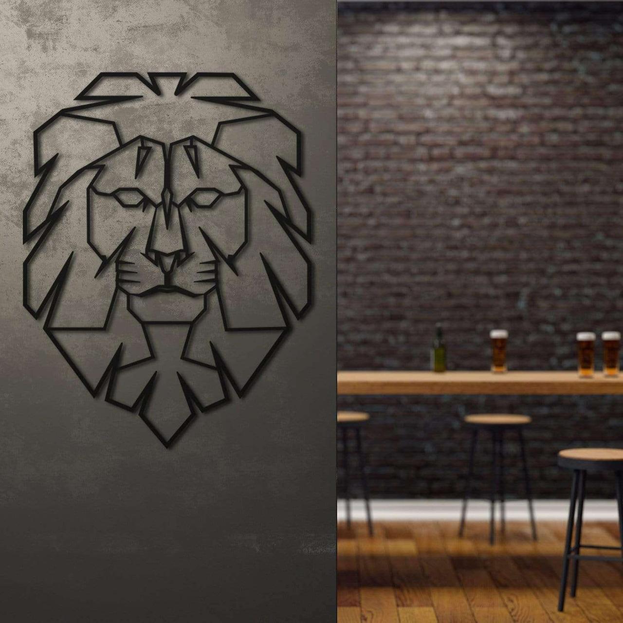 Лев (Лев) – Параметричний декор на стіну