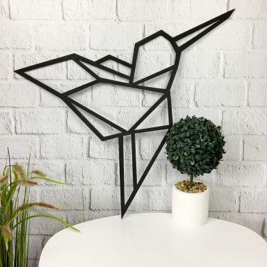Деревянное декоративное настенное панно «Колибри»