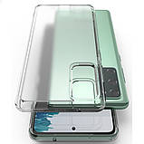 Чохол для Samsung Galaxy S20 FE, Ringke серія Fusіon, колір Clear (прозорий), фото 6