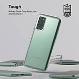 Чохол для Samsung Galaxy S20 FE, Ringke серія Fusіon, колір Clear (прозорий), фото 3