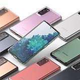 Чохол для Samsung Galaxy S20 FE, Ringke серія Fusіon, колір Clear (прозорий), фото 10