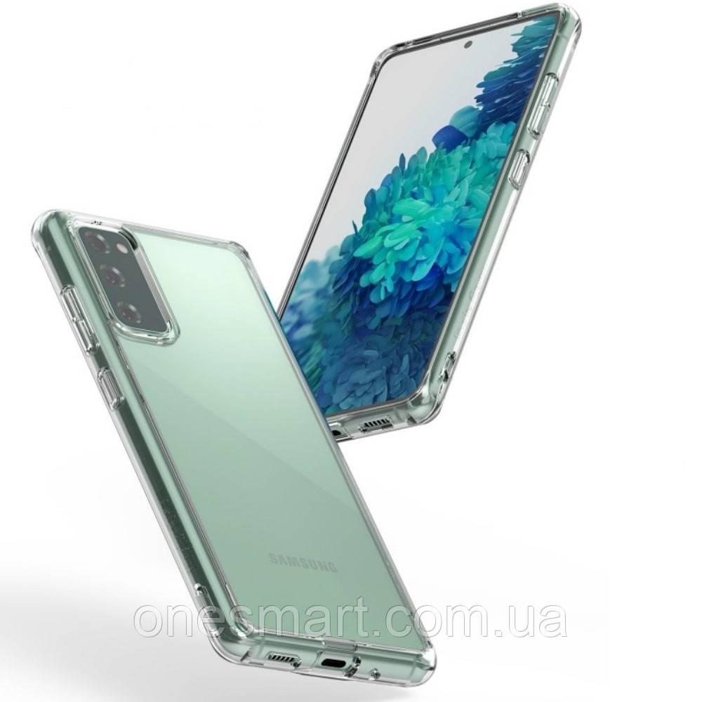 Чохол для Samsung Galaxy S20 FE, Ringke серія Fusіon, колір Clear (прозорий)
