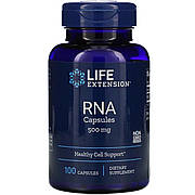 Рибонуклеиновая кислота, RNA Capsules, Life Extension, 500 мг, 100 капсул