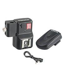 WANSEN PT-16NE 16-ти канальный радиосинхронизатор и приёмник с креплением под зонт, фото 3