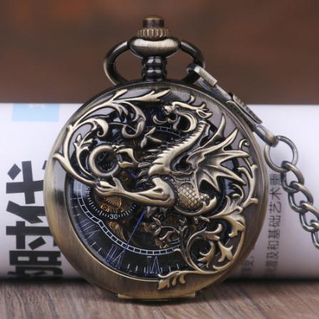 Кишенькові чоловічі годинники механіка