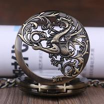Кишенькові чоловічі годинники механіка, фото 2