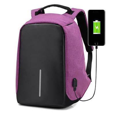 Умный рюкзак антивор Bobby XD Бобби с Usb зарядкой розовый 142206