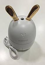 Увлажнитель воздуха Заяц (Кролик) с подсветкой, от USB