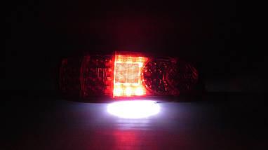 Комплект светодиодных фонарей LED 12-24V с подсветкой номера, фото 2