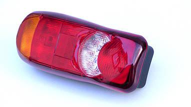 Комплект светодиодных фонарей LED 12-24V с подсветкой номера, фото 3