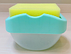 Диспенсер для миючого засобу SOAP PUMP SPONGE CADDY, фото 4