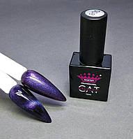 Гель-лак для ногтей магнитный кошачий глаз Master Professional №8