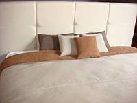 подушки и покрывала в спальню