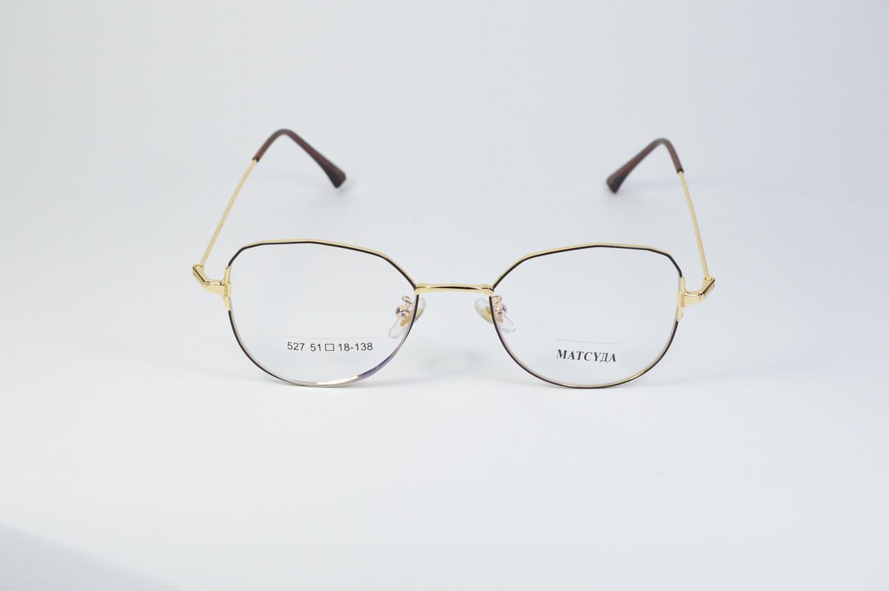 Стильні окуляри для роботи за комп'ютером MATSUDA Blue Blocker (527 год)