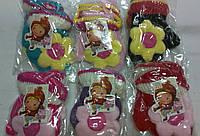 Варежки детские шерстяные с игрушкой ПДЗ-21