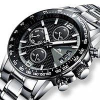 Часы наручные мужские кварцевые MEGALITH START, модные мужские часы