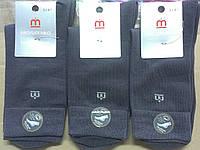 Носки мужские демисезонные х/б Мисюренко 25 размер с 2-й стопой серый НМД-053 27 / L / 41-43