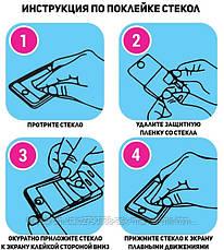 Захисне скло ProGlass для Samsung Galaxy S6 G920F, Galaxy S6 Duos G920FD На весь екран White, фото 3