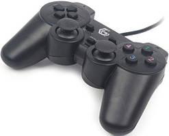 Игровой джойстик Gembird JPD-UDV-01, вибрация, USB