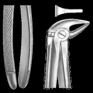 Щипцы для удаления нижних зубов