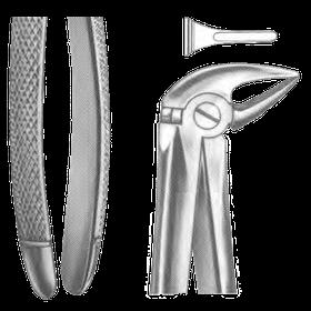 Щипці для видалення нижніх зубів