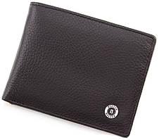 Чоловічий шкіряний гаманець з затиском BOSTON