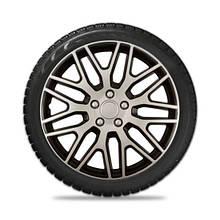 Колпаки колесные Elegant Dakar Silver Black R15