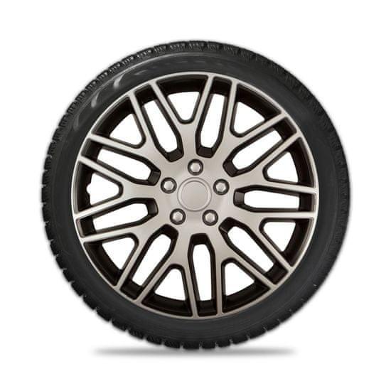 Колпаки колесные Elegant Dakar Silver Black R16