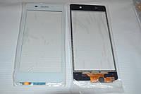 Оригинальный тачскрин сенсор (сенсорное стекло) Sony Xperia Z2 D6502 D6503 D6543 L50w (белый Synaptics) +СКОТЧ