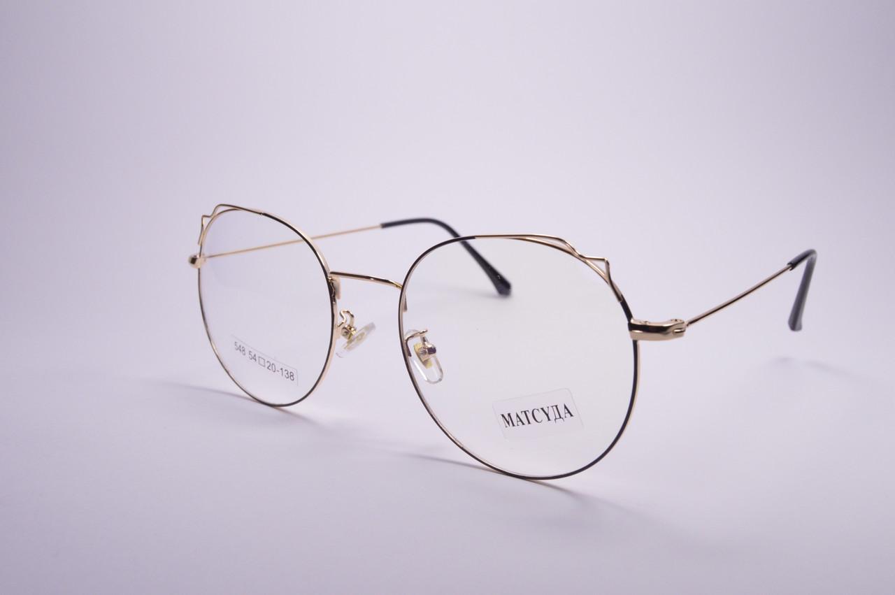 Стильні окуляри для роботи за комп'ютером MATSUDA Blue Blocker (548 к)
