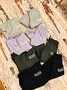 Повсякденний костюм утеплений з капюшоном і написами жіночий (Р. S - L) 79101626, фото 5