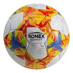 Мяч футбольный Grippy Ronex AD/Connect