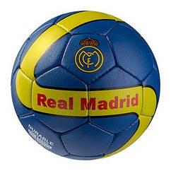 Мяч футбольный Grippy G-14 RM 3, синий/желтый.