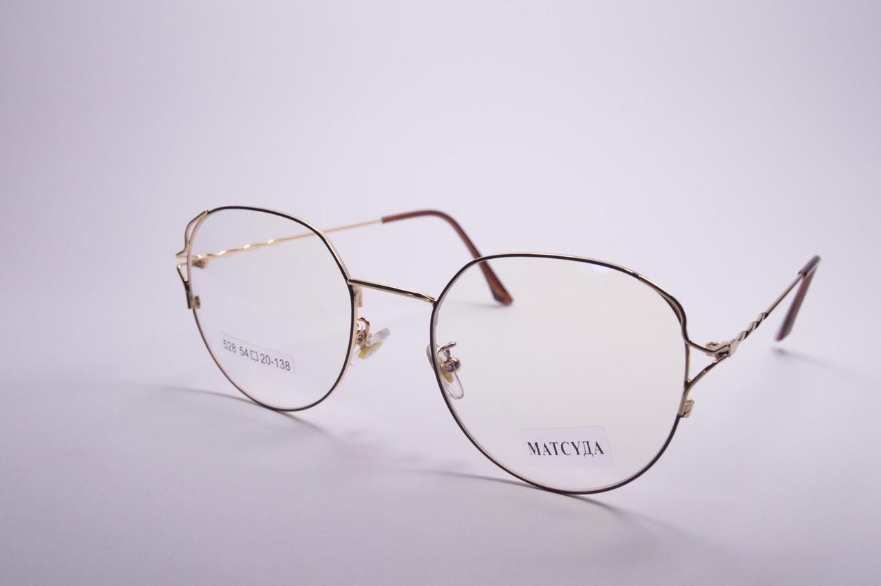 Стильные очки для работы за компьютером MATSUDA Blue Blocker (528 ч)