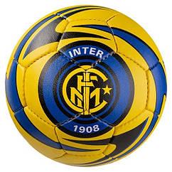 Мяч футбольный Grippy G-14 Inter Milan 2, желто/синий