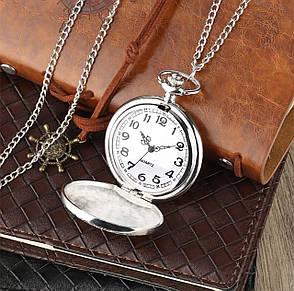 Карманные мужские часы на цепочке Batman, фото 2