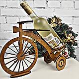 """Декоративная подставка для вина """"Велосипед"""", фото 2"""