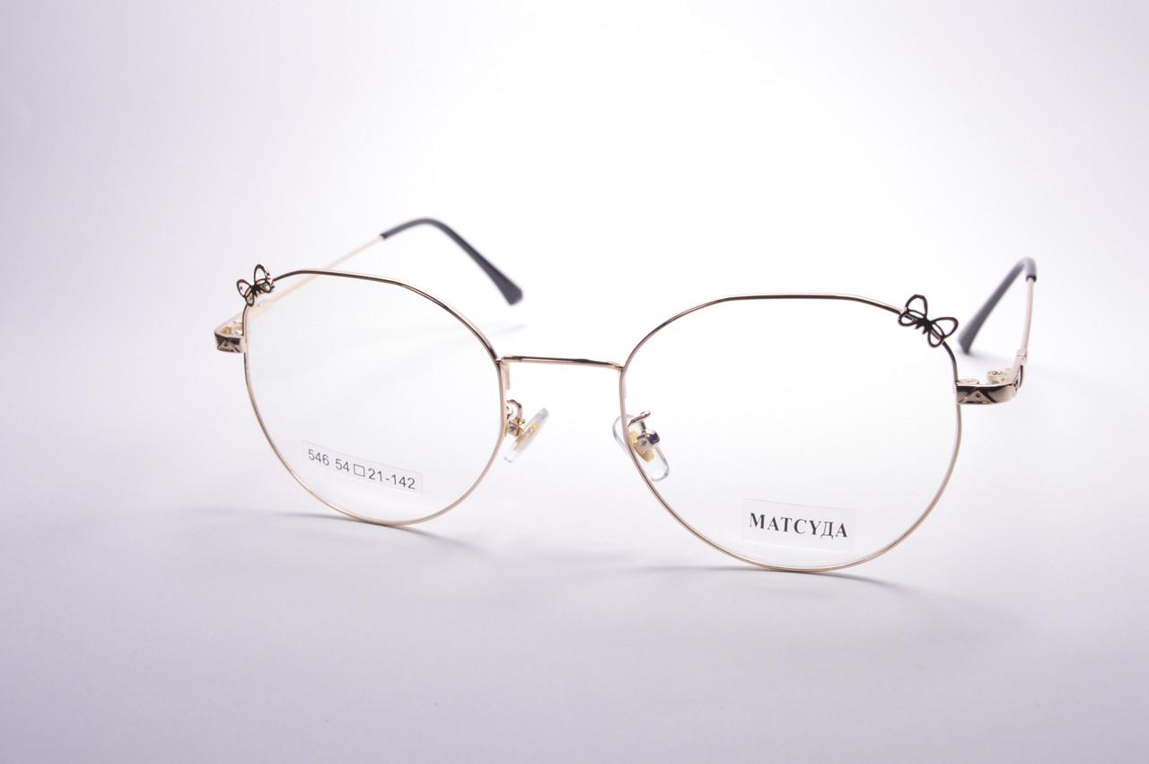 Стильные очки для работы за компьютером MATSUDA Blue Blocker (546 з)