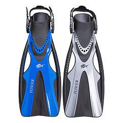 Ласти Dolvor F81 POWER, L/XL синій. Знижка