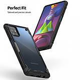Чохол для Samsung Galaxy M51 Ringke серія Fusion X, колір BLACK (чорний), фото 6